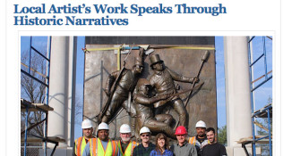 East City Art: Local Artist's Work Speaks Through Historic Narratives